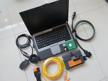 for bmw icom 2 b c with laptop d630 ram 4g with software expert mode 500gb