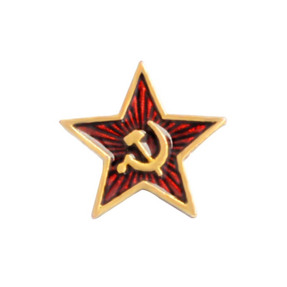 USSR CCCP Soviet Army Uniform Button small  star with hammer and sickle