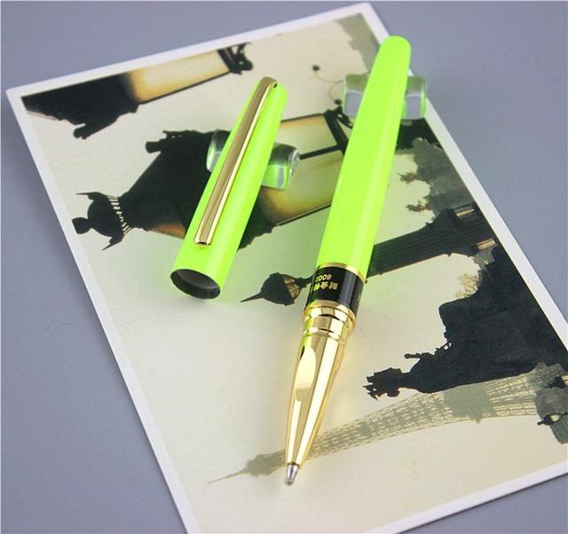Ballpoint Pen School Office Supplies Man Women Metal Roller Ball Pens High Quality Business Gift Send