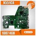 X551CA материнская плата REV2.2 1007U 4 ГБ для ASUS X551CAP F551CA материнская плата для ноутбука X551CA материнская плата X551CA материнская плата Тест 100% OK