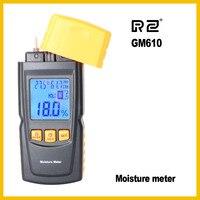 GM610 Handheld Wood Moisture Meter With Fine Design