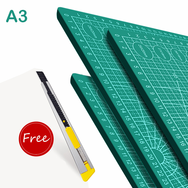 A4 A5 A3 PVC Cutting Mat Cutting Pad Patchwork Cut Pad Patchwork Tools Manual DIY Tool Cutting Board Double-sided Self-healing