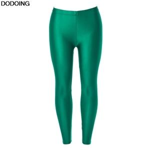 Image 1 - NEW Brands Legging Female Good Quality Fashion Leggings High Elasticity Leggins Waist Panty Women Plus Size Green TOP Selling