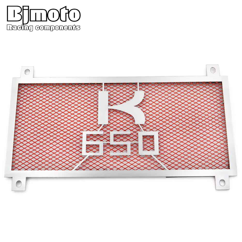 BJMOTO New Motorcycle Engine Radiator Bezel Grill Grille Guard Cover Protector Stainless Steel For KAWASAKI  Z650 2017 chrome motorcycle accessories engine radiator bezel grille protector grille guard cover for kawasaki z900 2017