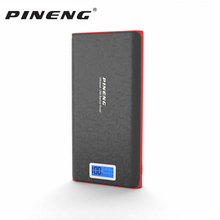 Pineng Power Bank 20000mah PN-920 External Battery Pack Powerbank With Led Display 5V 2.1A For iPhone Samsung LG HTC Xiaomi OPPO