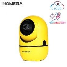 INQMEGA chmura bezprzewodowy kamera IP 1080P inteligentny automatyczne śledzenie człowieka bezpieczeństwa w domu kamery monitoringu CCTV sieci Mini Wifi Cam