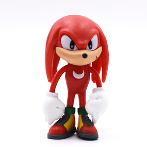 Image 5 - 6Pcs/Set 7cm Sonic Figures Toy Pvc Toy Sonic Shadow Tails Characters Figure Toys For Children Animals Toys Set Free Shipping