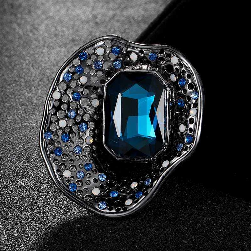 Fashion Women's Vintage Brooches Jewelry Shiny Noble Austrian Crystal Brooch pins Bijoux fashion bags accessory men's broches