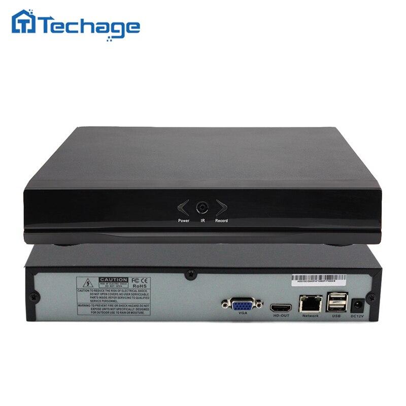 Techage 8CH 1080P Mini NVR Full HD 8 Kanal Cctv NVR ONVIF P2P Wolke Netzwerk Video Recorder Für IP Kamera System