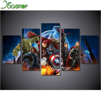 YOGOTOP Diamond Painting Cross Stitch Kit 5D Square Diamond Mosaic Pasted Diamond Embroidery Home Decor Avengers