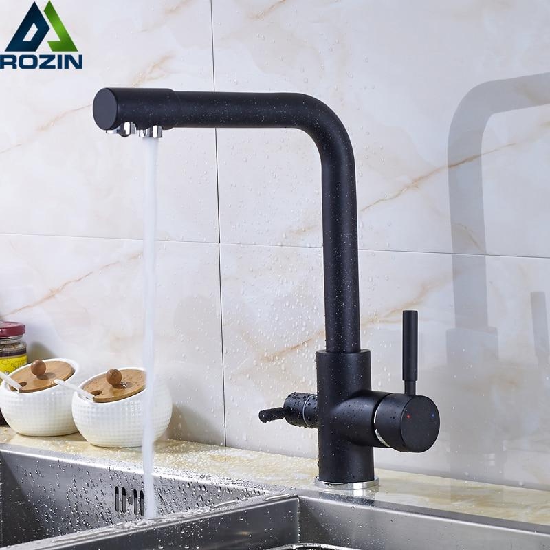 Очистка кухонных смесителей на бортике 360 градусов вращение смеситель кран одно отверстие горячий и холодный смеситель кран для кухни