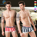 Pink Hero New Style Dynamic Striped Racer Cotton Yarn Dyed Men's Boxer Underwear Wholesale Brand Manufacturers  Underwear Boxers