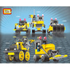 LOZ DIY Educational Assembles Particles Classic Building Set Bulldozer 3 Styles Block Kits Toys For Children
