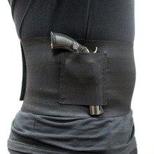 Abdominal On-Body Pistol Holster
