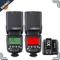Godox Ving 2PCS V860II-N 2.4G TTL Li-on Battery Camera Flash Speedlite + X1T-N Flash Trigger Kit for Nikon D700 D7100 D7000