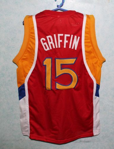 #15 Blake Griffin Dolphins McDonald ALL AMERICAN high quality basketball jersey Retro throwback stitched embroidery Customize an