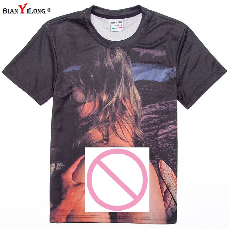 Brand Clothing 2018 New Summer Fashion Novel t-shirt Sexy Naked tattoo Girl Printing 3d t shirt men/women top tees plus size 4XL