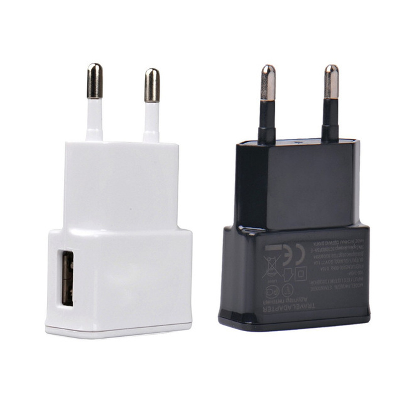 New EU plug Adapter 5V 2A EU USB Wall Charger Mobile phone charger For Galaxy S5 Note4 N9000 mobile phone charger Drop Shipping