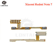 цена на for Xiaomi Redmi Note 7 Power Volume Flex Cable Side Key Button On Off Switch Flex Cable for Redmi Note7 Repair Spare Parts