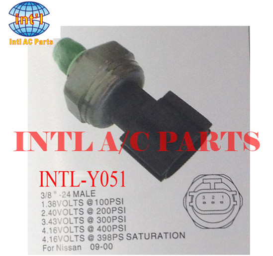 For Nissan 09 00 Auto Ac Pressure Switch Air Conditioning Pressure Sensor