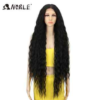 Noble Synthetic None-Lace Wigs #1B