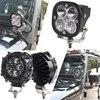 3 인치 LED 포드 라이트 스팟 빔 콤보 빔 SUV ATV UTV 4WD 보트 오프로드 라이트 마린 자동차 트럭 트랙터 픽업