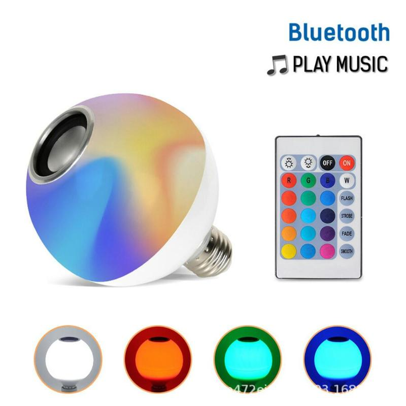 Smart E27 New Wireless Bluetooth Smart Bulb LED 85-265V RGB Magic Lamp E27 Color Change Light Bulb IP44  Smart Home Lighting