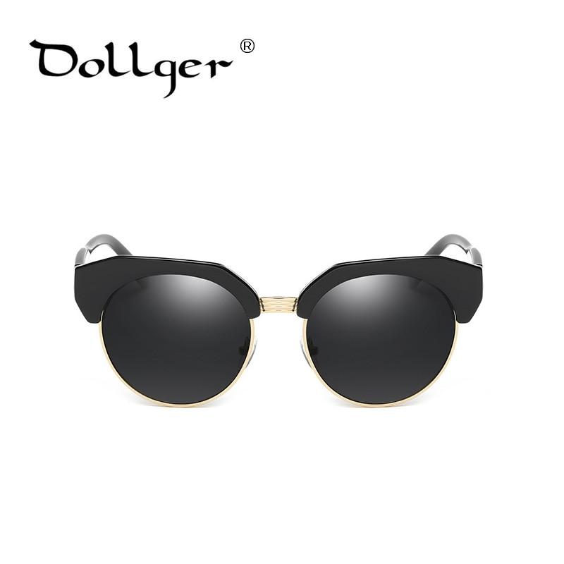353f2a38e45075 Dollger mode vintage cat eye lunettes de soleil noir de luxe lunettes de  soleil polarisées femmes 2016 miroir lunettes de soleil ronde gafas s1245  dans ...