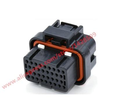 1 Set 34 Pin 4-1437290-1 Female Tyco AMP Auto Oil Gas Connector Automotive Socket original amp apragaz te tyco connector import 1445998 1