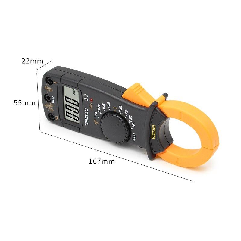 Digitaalne Multimeeter DT-3266L 600A 3