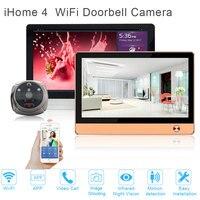 Amélioré Smart home système de sécurité WiFi Sonnette Caméra WIFI interphone vidéo porte téléphone porte d'entrée de sécurité Pir caméra systèmes