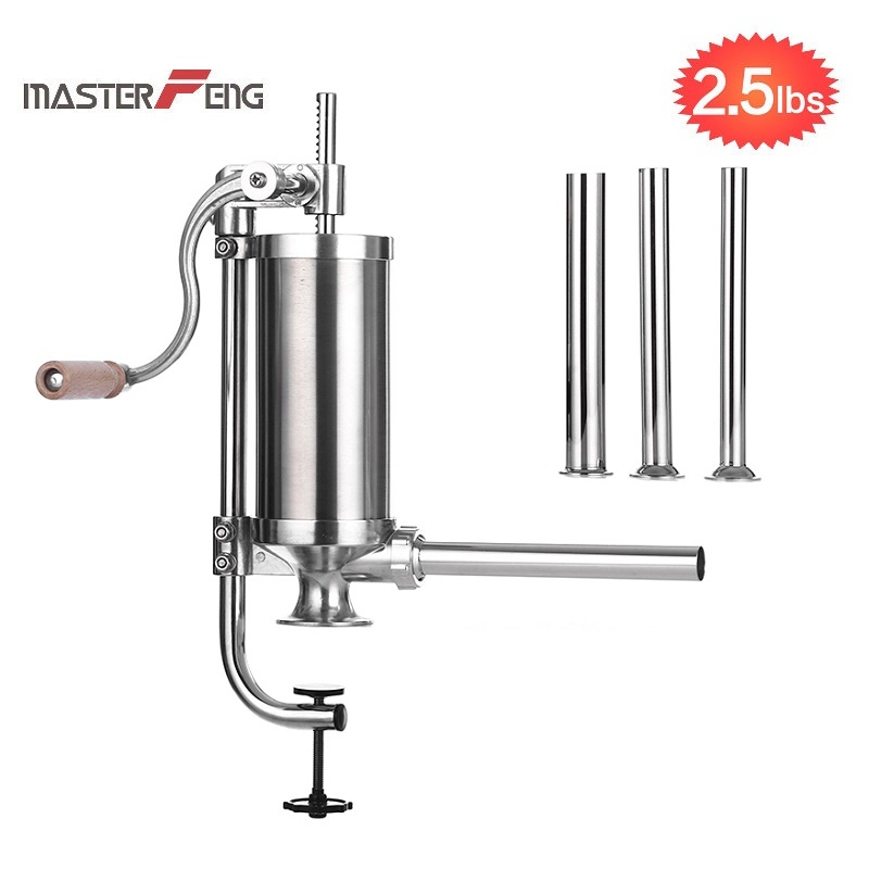 sausage stuffer with stainless steel filling nozzles MF-3002C_00