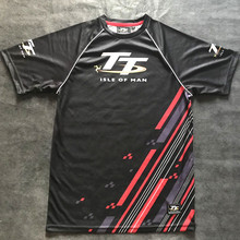 2019 Summer Isle of Man tt Racing shirt Motorcycle Riding Breathable Off-road Short T-shirt Quick-drying Outdoor top moto gp
