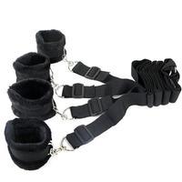 BDSM Bondage Adult Restraints Soft Solid Gag Bed Mattress Set Restraints Sex For Couples Woman Slave