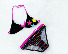 Cute Star Pattern Kids Bikini