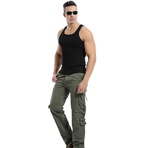 Image 5 - Top qualität männer military camo cargo hosen freizeit baumwolle hosen cmbat camouflage overalls 28 40 AYG69