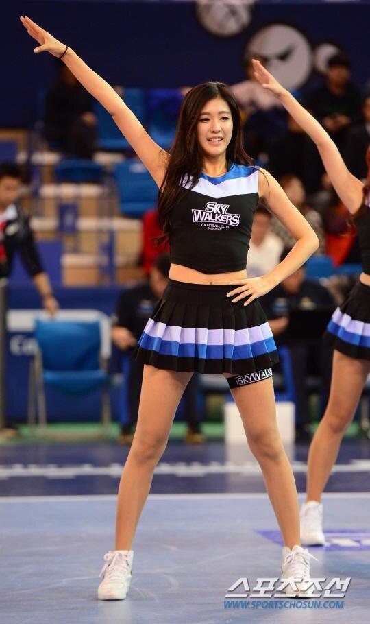 Sexy High School Girl Basketball Baby Cheerleader Costume Sport Cheer Uniform Top With Skirt