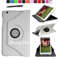 Magnetic 360 Rotating Smart Stand Case Cover for LG G Pad 8.3 inch Tablet V500 ( Auto Wake/Sleep) W/ Film& Stylus (White)