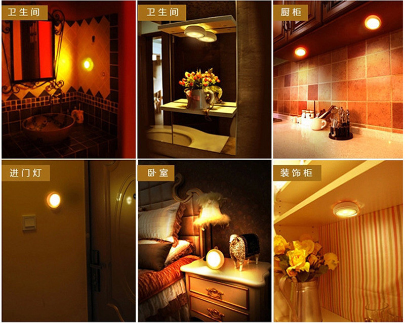 Lâmpadas de Parede o closet gabinete lâmpada de Instalação : Montado na Parede