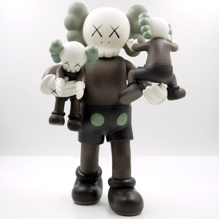 40 cm KAWS Original Fake Plastic Action Figures New 2018 Kids Toys Gifts Baby Clean Slate Brinquedos with box clean slate