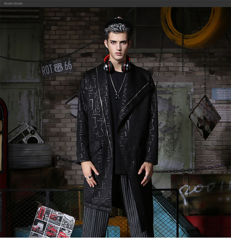 1e2d9484d19 GENANX бренд Мужская куртка-ветровка черный жаккард 2018 Новый ...