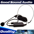 Professional Wired Headworn Condenser Headset Microphone Head Mic For Musical Instrument Flute Speech Mixer Audio Karaoke Stage