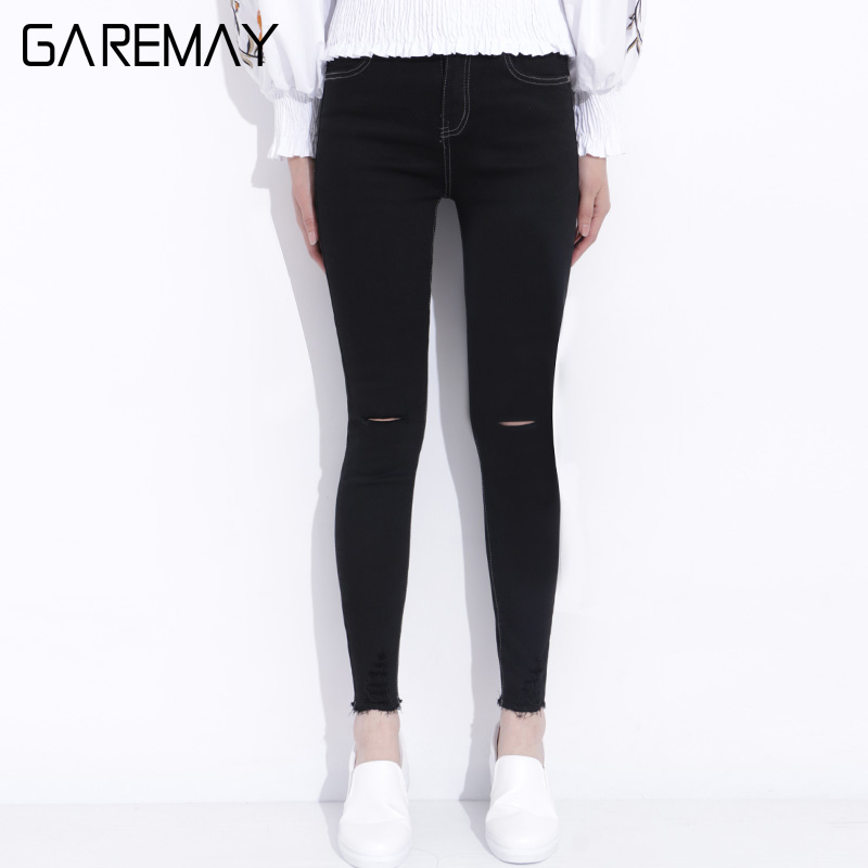Stretch Denim Capris Elastic Waist Promotion-Shop for Promotional ...