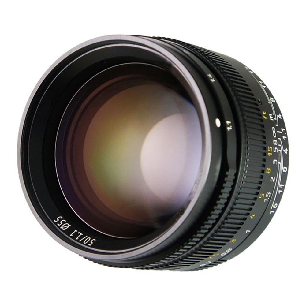 50mm f1.1 m montagem lente fixa para leica m montagem câmeras M M m240 m3 m6 m7 m8 m9 m10 - 2