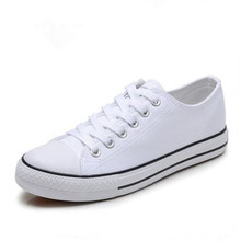 Women Shoes Black Canvas Tenis Feminino Classic Fashion Casual Ladies Lace Up Star White Red Flats Vulcanized