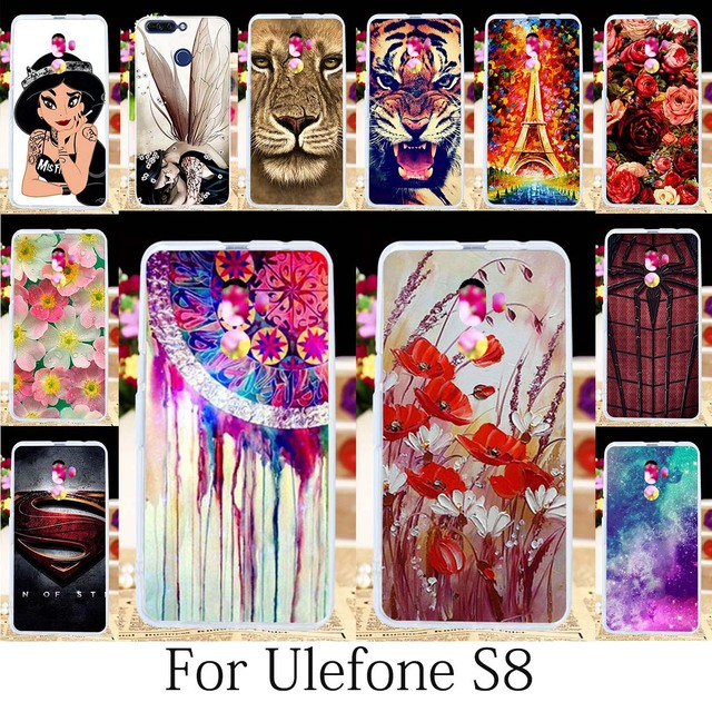 newest 1ff62 e494e US $1.26 20% OFF|TAOYUNXI For Ulefone S8 Pro Case Fitted Patterned Coque  Ulefone S8 Cover Painting Girls Anime Fundas Housings Shell Hood 5.3Inch-in  ...