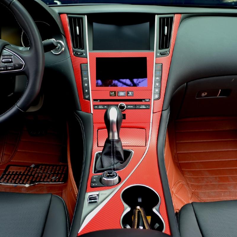 Yeni dizaynlı avtomobil salonu daxili dizayn konsolu Infiniti Q50 / - Avtomobil daxili aksesuarları - Fotoqrafiya 2
