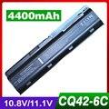 4400 mAh batería para COMPAQ 435 436 CQ430 CQ630 mu06 para Presario CQ32 CQ42 CQ43 CQ57 CQ62 CQ56 CQ56z-200 CTO CQ62z-200CTO