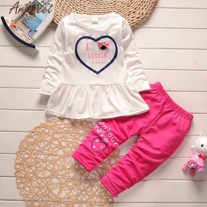 Christmas Pajamas Dress For Baby Girls Kids Outfit Clothes Dot Bowknot Cardigan Coat+T-shirt+Long Pants 1Set Hot Pink &