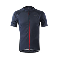Quick Dry Cycling Jersey Summer Anti-sweat Bike Bicycle Short Sleeves Jerseys MTB DH Bike Cycling Clothing T-Shirts With Pockets